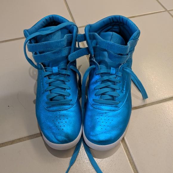 Reebok Shoes   Reebok Freestyle Hi Top